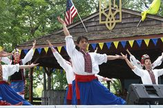 Orlando Pagan instructor for Syzokryli  Ukrainian dancing group in New York