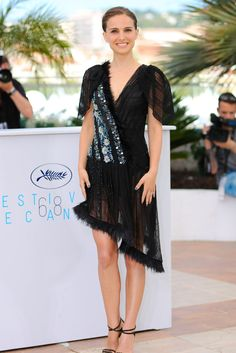 Natalie Portman Takes Sheer To The Next Level At Cannes Film Festival Beautiful, talented and a fashion knockout.