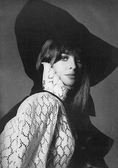 Julie Christie by Richard Avedon, 1968.