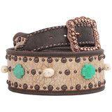 Double J Saddlery Leather Belt