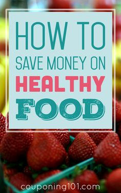 It IS possible to eat healthy on a budget! Use these tips on how to save money when shopping organic, natural, or gluten-free!