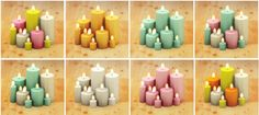 lina-cherie OM's Holiday candles recolored