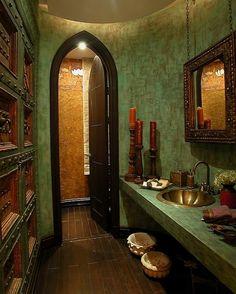 idées déco salle de bains en textures et couleurs harmonieuses                                                                                                                                                                                 Plus