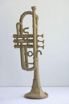 cardboard music instrument