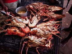 Don't leave the British Virgin Islands without trying the famous grilled lobster at the Lobster Trap in Anegada.