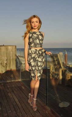 Peyton List from The Big Picture: Today's Hot Pics  The actress steps out at the Infinity Audio Beach House powered by Gevalia Iced Coffee and Cargo Cosmetics.