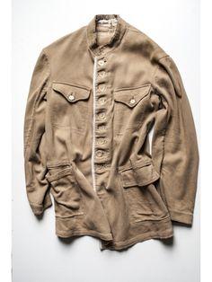 1910's french workwear corduroy Jacket