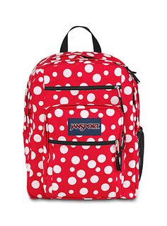 Really cute Jansport Big Student backpack. I love the flamingo one! Sac Jansport, Mochila Jansport, Pretty Backpacks, Cute Backpacks For School, College Backpacks, School Bags For Girls, Girls Bags, Animal Bag, Cute Bags