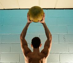 Rip your abs and strengthen your core with these five med-ball moves.