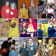 100 Creative Halloween Couples Costume Ideas- hahahaha some of these are hilarious Unique Costumes, Cute Costumes, Family Halloween Costumes, Holidays Halloween, Happy Halloween, Halloween Party, Halloween Decorations, Halloween Ideas, Halloween Couples