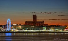 Early Morning Liverpool Waterfront