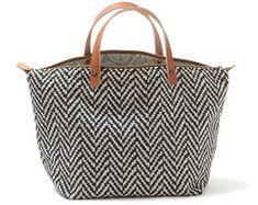 Handbag Tiramisu, Mala de mão em chenille espinhado, sarja floral, Ganga, Preto, Marfim, Fecho éclair, Pegas duplas em couro natural