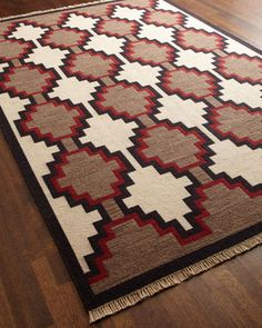 """""""Great Plains"""" Rug by Ralph Lauren Home at Horchow. 6x9 - 1,749; 8x10 - 2,589"""