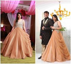 indo western dress for engagement for mom - Google Search