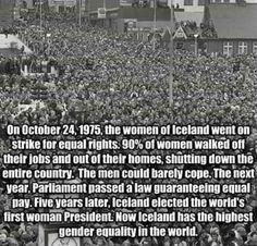 Deberia haber esta unión entre las mujeres de todo el mundo, otra cosa sería -