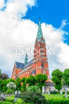 S:t Johannes church Side View Royalty Free Stock Photo