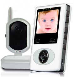 DB-Tech Digital Video Baby Monitor with built in IR LEDs for up to Night Vision - Built in Remo Baby Monitor, Lcd Monitor, Baby Registry Essentials, Home Safety, Summer Baby, Mini Me, Baby Accessories, Sd Card, Night Vision