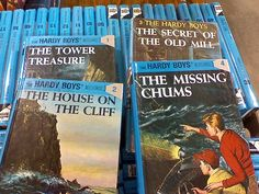I read the whole series when I was a kid.  Great mystery books!