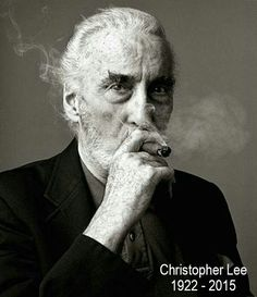 RIP Sir Christopher Lee This is what pure awesomeness looks like.