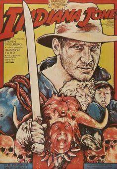 Indiana Jones (Movie Poster from Poland)