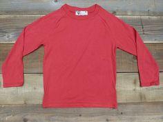 Red Raglan T-shirt