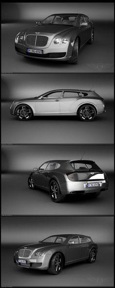 Bentley Continental Flying Star, Carrozzeria Touring Superleggera (2010)
