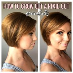 how to grow out a very short pixie cut - Google Search