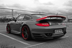 Porsche Bi Turbo EVO. I'm not a huge fan of Porsche but I have to admit that this one is pretty awesome.