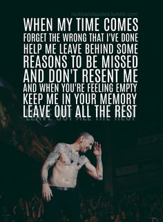Beautiful Legend Chester Bennington ❤🤘 Your voice will always be home💙🎤🤘 Numb Lyrics, Music Lyrics, Song Lyric Quotes, Music Quotes, Chester Bennington Quotes, Charles Bennington, Linkin Park Wallpaper, Park Quotes, Linking Park