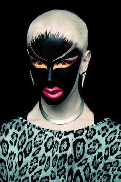 Ryan Burke, Self Portrait Makeup Masters, Queen Makeup, Makeup Class, Drag, Make Up Art, Human Art, Portraits, Makeup Designs, Fantasy Makeup
