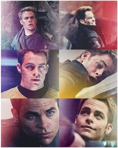 Star Trek Into Darkenss - James T Kirk (Chris Pine)