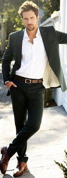guapo fuerte buena ropa perfecto