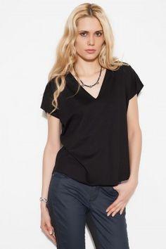 Basic&Co VOGUE Siyah Tişört: Lidyana.com