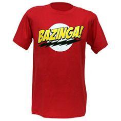 BIG BANG THEORY RED BAZINGA!