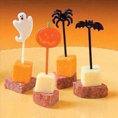 Amazon.com: 72 Halloween Appetizer Cupcake Picks: Home & Kitchen
