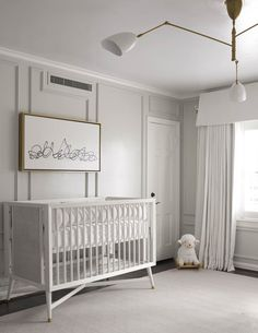 Outdated Nursery Decor Trends And How To Replace Them - Modern Nursery Curtains, Nursery Room Decor, Kids Bedroom, Kids Rooms, Childrens Rooms, Nursery Ideas, Bedroom Ideas, Master Bedroom, Kids Room Design