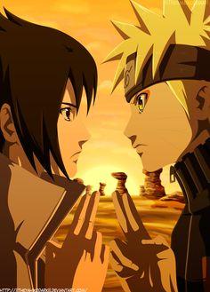 Naruto And Sasuke I Will Be Rival by IITheYahikoDarkII.deviantart.com on @deviantART