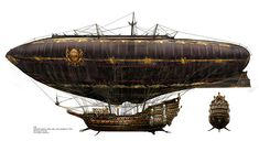 Only slightly steampunk....The Cardinal's airship - from the movie Three Musketeers (2011)