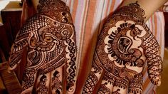 Beautiful Punjabi #Mehndi Designs