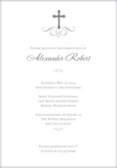 baptism invitations | Baptism Invitation Card