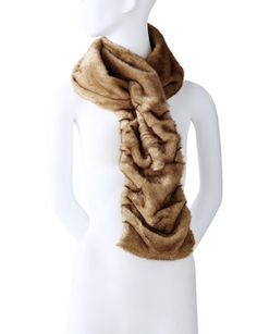 Ruched and rich, slip into a super soft scarf. | Click to shop this and other stocking stuffers.