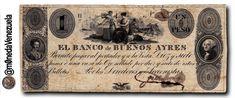 El Primer Billete en el Mundo con la efigie de Bolívar circuló en Argentina en 1827  Lee el artículo completo AQUI: El Primer Billete en el Mundo con la efigie de Bolívar circuló en Argentina en 1827  En Argentina en 1827 circulo el Primer Billete en el Mundo con la efigie de Nuestro Libertador Simón Bolívar. Por Victor Torrealba. En 1827 entra en circulación en la Provincia de Buenos Aires República de Argentina un billete de 1 Peso con la imagen de nuestro Libertador Simón Bolívar. Este…