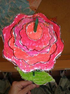 """Rosa de """"capes"""""""