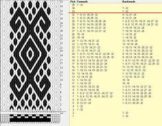 32 tarjetas, 2 colores, repite cada 32 movimientos // sed_1049 diseñado en GTT༺❁
