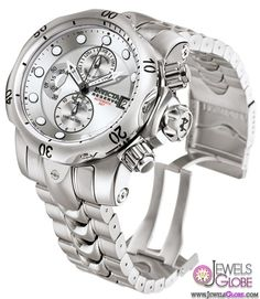 Invicta watches for men are ideal for those who want to show off their unique taste for timeless fashion. These watches have been around for more than 175 Amazing Watches, Beautiful Watches, Cool Watches, Watches For Men, Stylish Watches, Stainless Steel Watch, Stainless Steel Bracelet, Luxury Watches, Rolex Watches