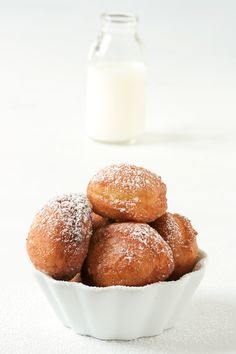 Meyer Lemon & Sour Cream Donuts. I need to make these!