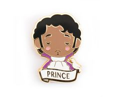 PRINCE Pin Brooch by SketchInc on Etsy