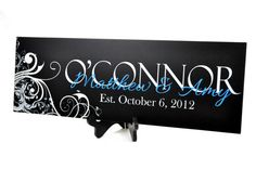 Personalized Family Name Sign Family Established by mrchomedecor, $33.00