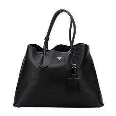 Prada City Calf Shopping Bag (13,150 SVC) ? liked on Polyvore ...
