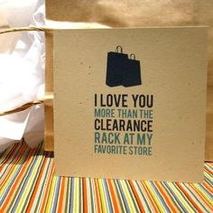i don't think my fiance would be too thrilled with this card....BUT I LOVE IT!!